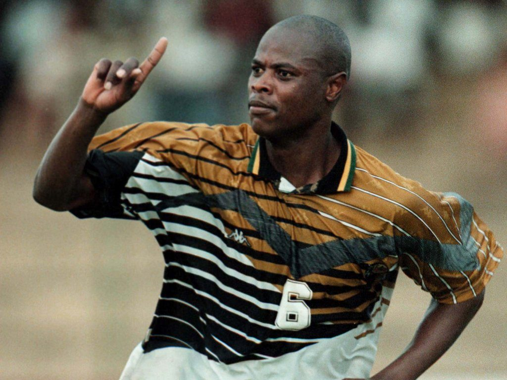 Phil Masinga: Lucas Radebe leads tributes as ex-Leeds and South Africa striker dies aged 49