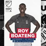 New York Red Bulls select Ghanaian defender Roy Boateng in MLS SuperDraft
