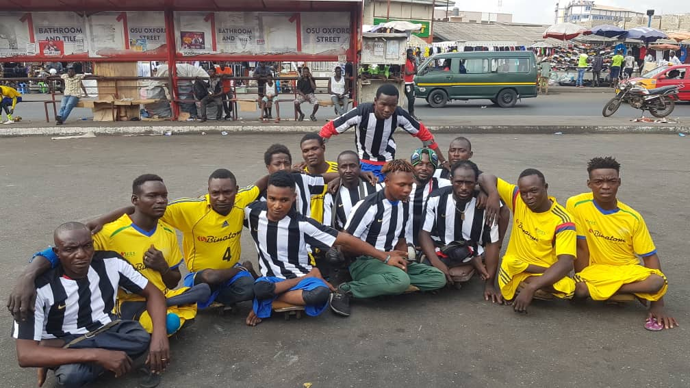 Bright Addae foundation shows love to Ghana Skate Soccer Federation