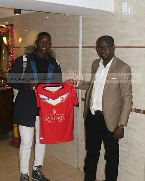 Aduana Stars striker Boubacar Soumana transferred to Algerian side CR Belouizdad