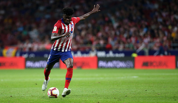 Atletico Madrid celebrate Thomas Partey for making Africa Bext XI team of 2018