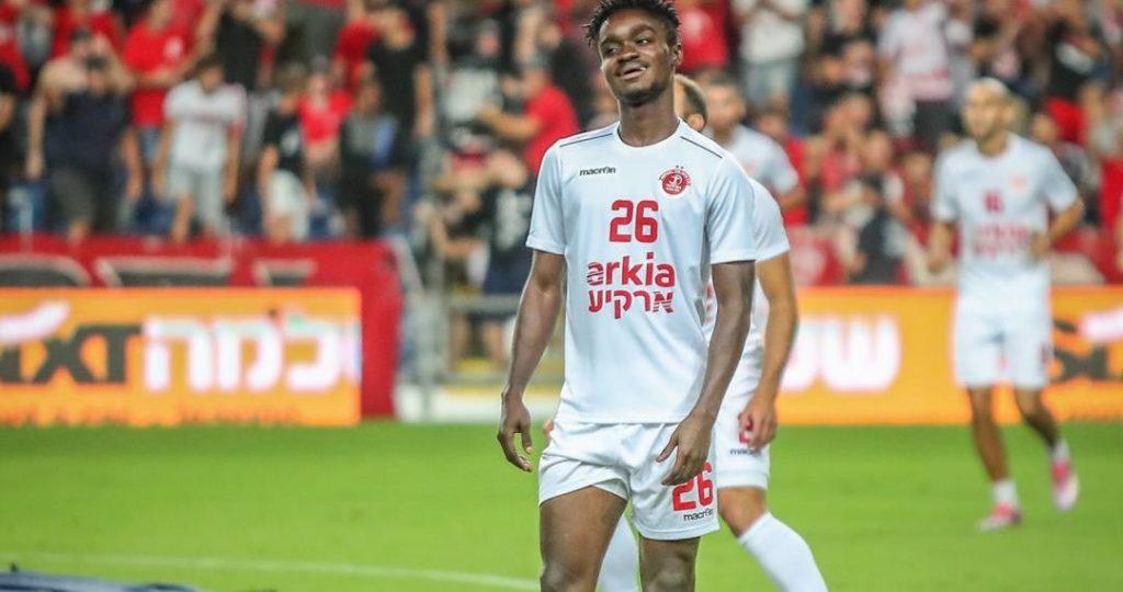 Former Aduana Stars defender Emmanuel Boateng scores debut goal for Hapoel Tel Aviv
