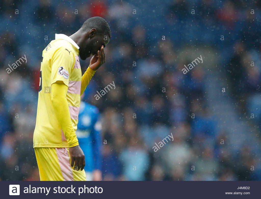 Scottish side Falkirk FC release Ghanaian midfielder Prince Buaben