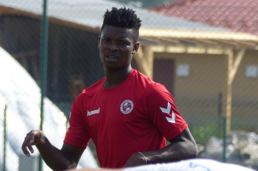 Ghanaian youngster Edmund Addo climbs off the bench to score brace for FK Senica in friendly win over FC Petržalka