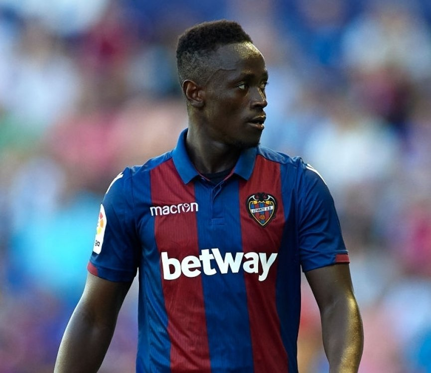 Emmanuel Boateng registers assist in UD Levante Copa Del Rey victory over Barcelona