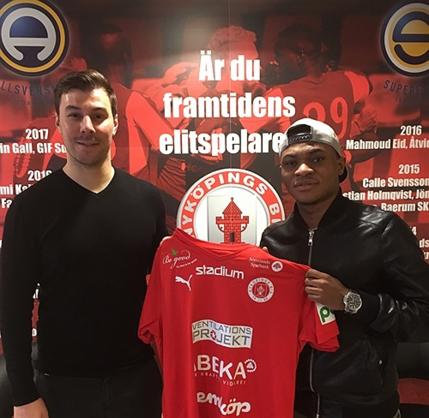 Ghanaian youngster Enoch Adu seals move to Swedish lower-tier side Nyköpings BIS