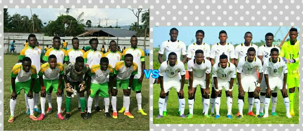 Ghana U20 to play Susubribi SC today in friendly to prepare for African Youth tournament