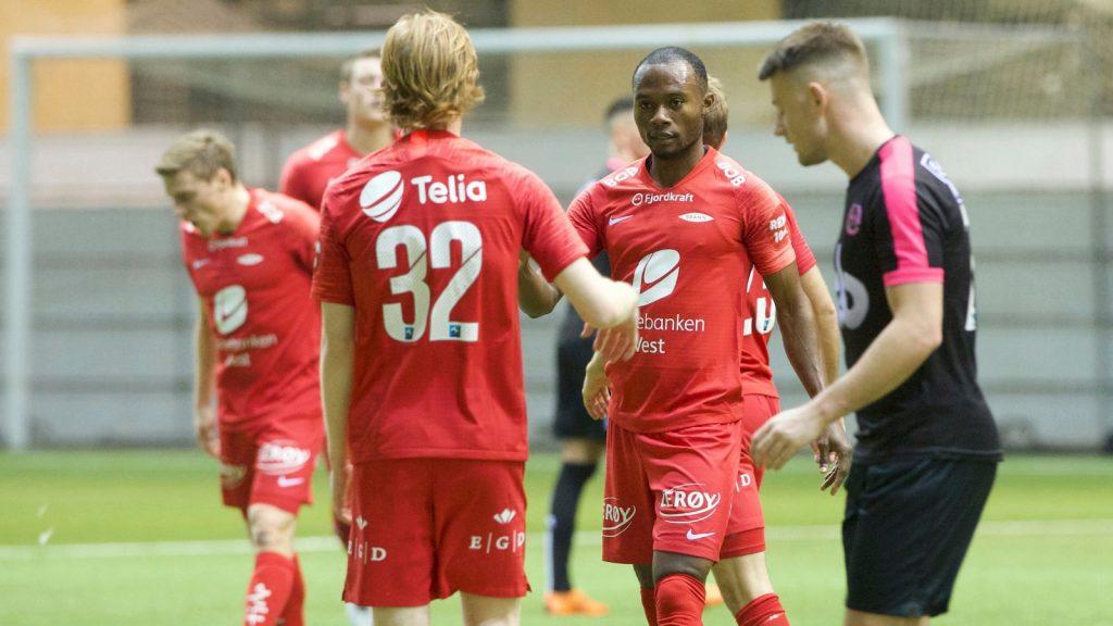 VIDEO: Gilbert Koomson hits first league goal as SK Brann thump Viking FK