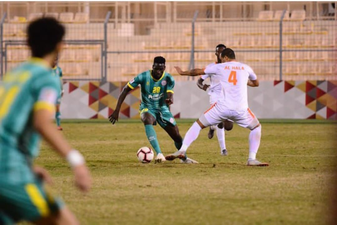 In-form Ghanaian centre-back Joseph Adjei wins Man-of-the-Match in Malkiya FC draw with Al Hala in Bahraini Cup