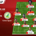 CAF Confederation Cup: Abass in, Sefah out as C.K Akunnor makes one change against Coton Sport