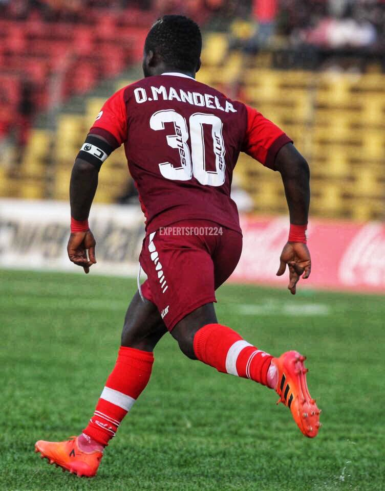 Mandela Ocansey salvages draw for Horoya AC against Esperance de Tunis in CAF Champions League