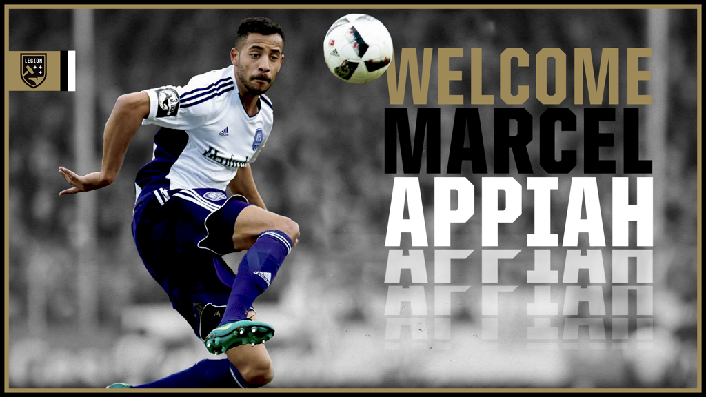 Birmingham Legion FC chief Jay Heaps hails Marcel Appiah\'s signing