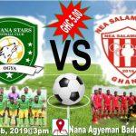 Aduana Stars to engage Divison One side NEA Salamina in friendly clash