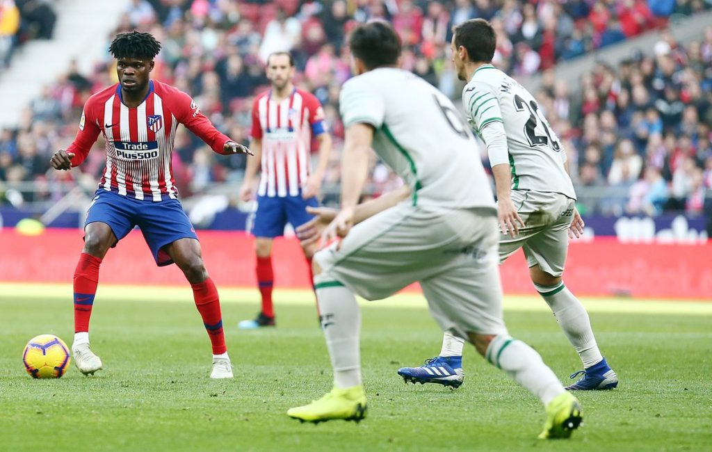 Thomas Partey set for Madrid derby after being named in Atleti squad