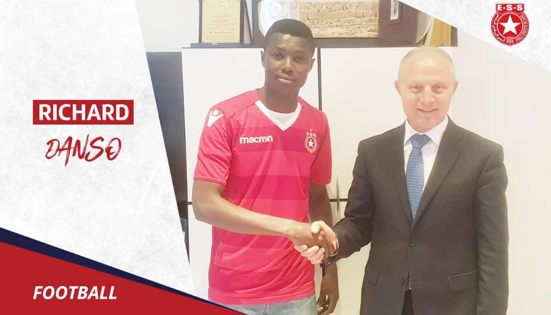 CONFIRMED: WAFA forward Richard Danso joins Tunisian giants Etoile du Sahel