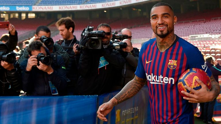Kevin-Prince Boateng: A wildcard that can improve Barcelona