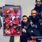 VIDEO: Jordan Ayew presents wife Denise with a gigantic flower on Val's day
