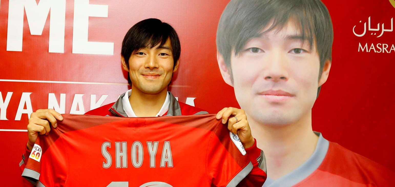Nakajima raring to kick-off Al Duhail career