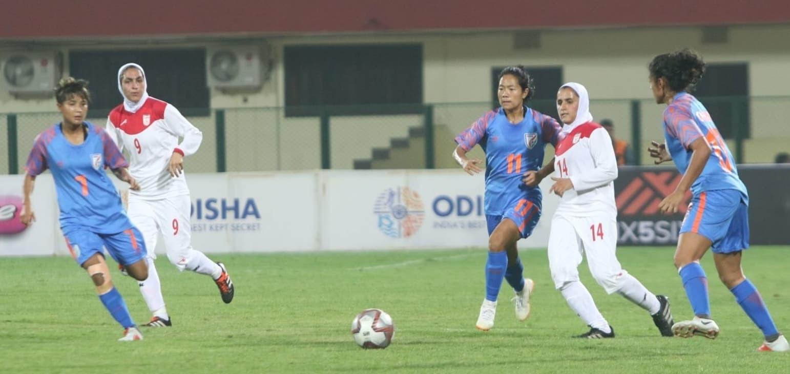Winning starts for India, Myanmar in Gold Cup