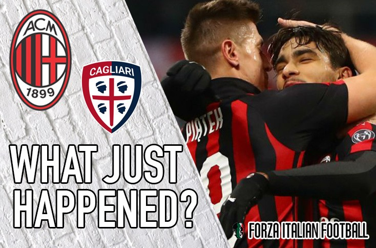 VIDEO: AC Milan 3-0 Cagliari – Bakayoko bosses it and Pistolero Piatek is on target again
