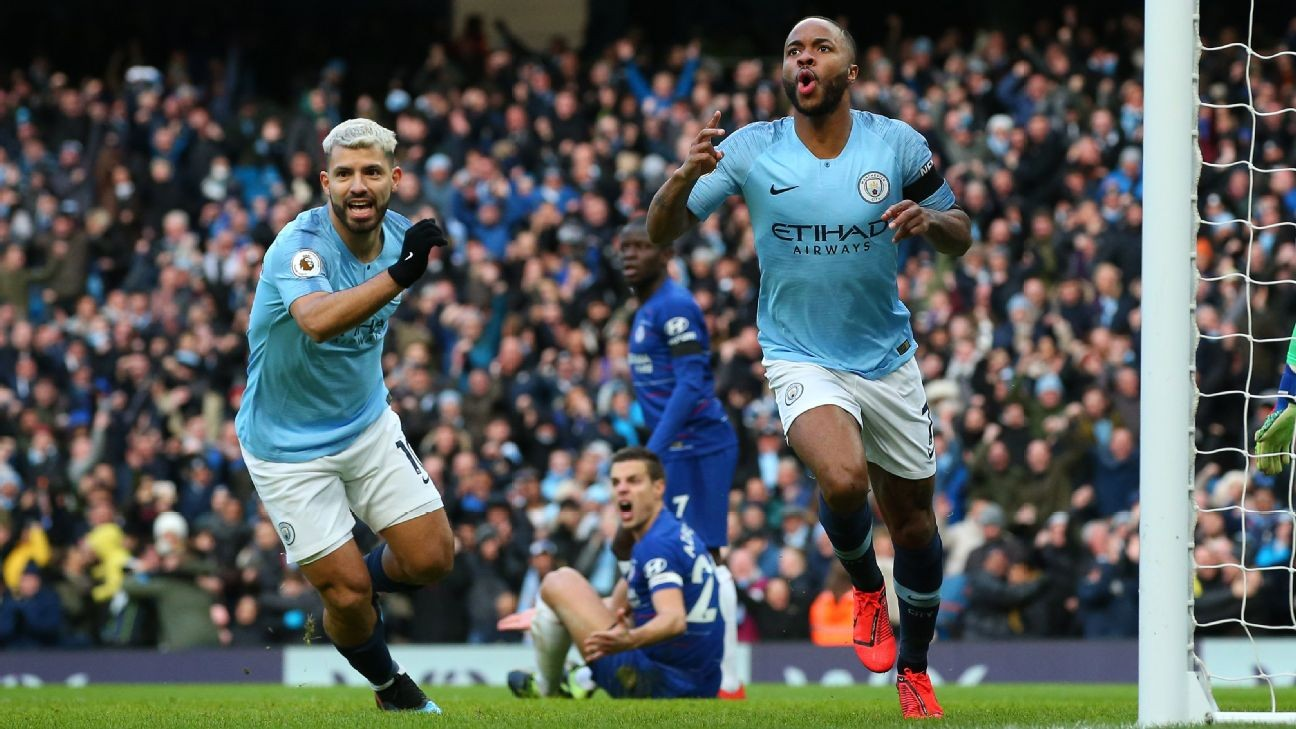 Manchester City fire shot over Liverpool's bow while furthering Chelsea's woe