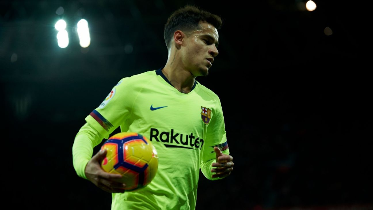 Coutinho retains Barcelona faith despite doubts over fit in Valverde system - sources