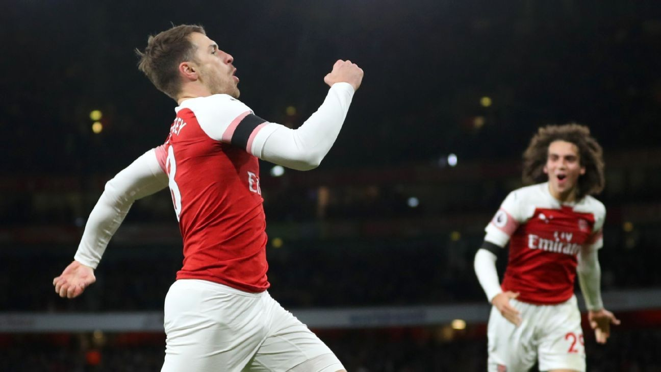 Juventus sign Arsenal midfielder Aaron Ramsey to 4-year deal