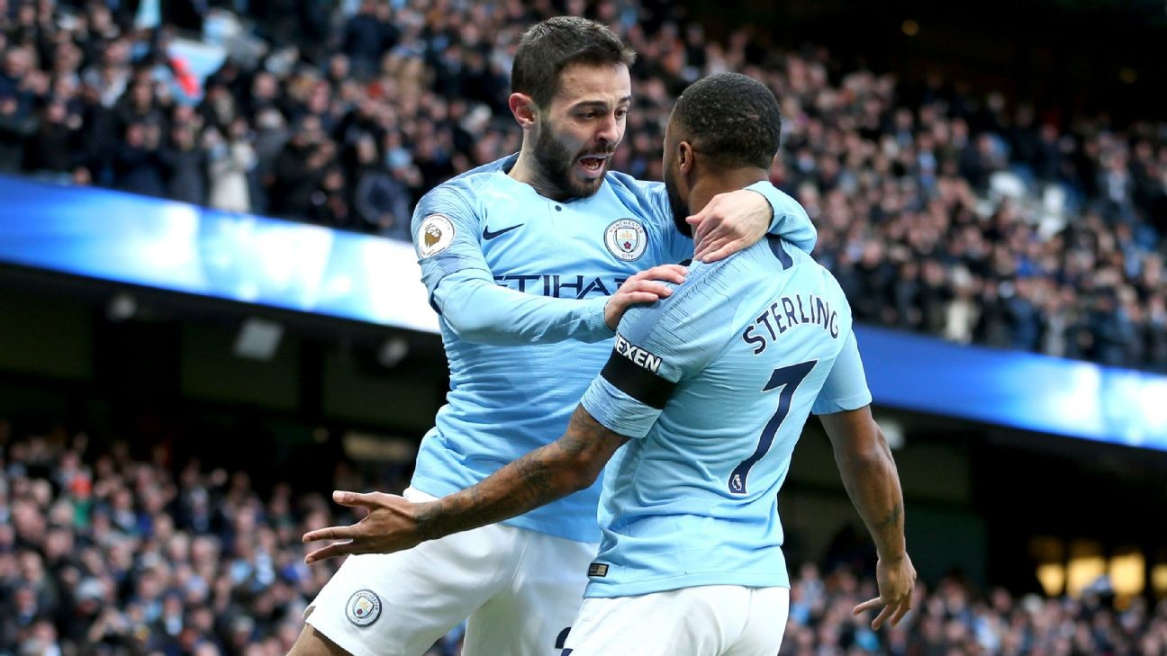 Manchester City's Bernardo Silva: Better if Liverpool drop points vs. United