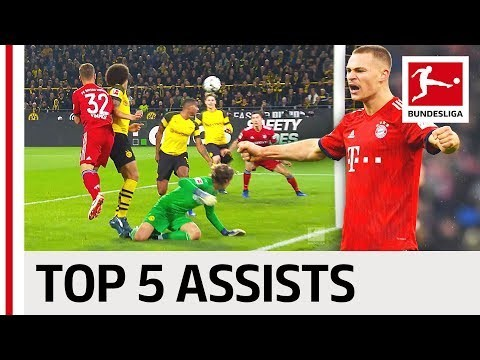 Joshua Kimmich - Top 5 Assists