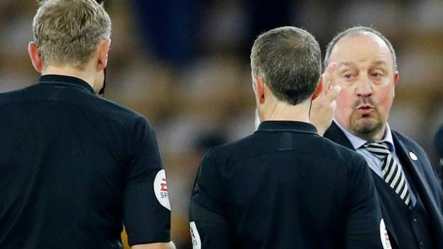 Newcastle boss Rafael Benitez 'didn't like' challenge on keeper for Wolves equaliser