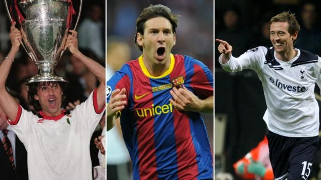 Champions League quiz: Put these legends in the correct order
