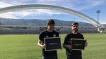 Raul Garcia and Mikel San Jose take part in tasty LaLiga Santander Experience