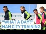 City prepare to take on Newport County   FA Cup   Training