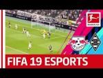 Borussia Mönchengladbach vs. RB Leipzig   Virtual Bundesliga   Highlights Matchday 11