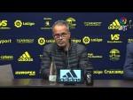 Rueda de prensa de Álvaro Cervera tras el Cádiz CF vs CD Tenerife (2-0)