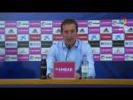 Rueda de prensa de Ramis tras el Real Zaragoza vs Albacete BP (0-0)