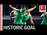 Claudio Pizarro - Now The Oldest Goalscorer in Bundesliga History!