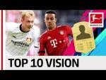 Thiago, Brandt, Reus & More - EA SPORTS FIFA 19 - Top 10 Vision