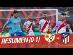 Resumen de Rayo Vallecano vs Atlético de Madrid (0-1)