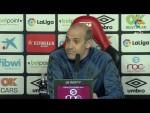Rueda de prensa de Jiménez Monteagudo tras el RCD Mallorca vs CD Lugo (3-0)