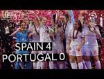 UEFA Women's Futsal EURO Final Spain 4-0 Portugal