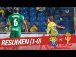 Resumen de UD Las Palmas vs Real Sporting (1-0)