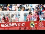 Resumen de Real Madrid vs Girona FC (1-2)
