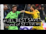SALIN, TRAPP, #UEL BEST SAVES: Round of 32 - 1st Leg