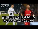 KOLOLLI, BEN YEDDER, #UEL BEST GOALS: Round of 32 - 1st Leg