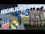 GOALS & HIGHLIGHTS | Navalcarnero 2-3 Real Madrid Castilla