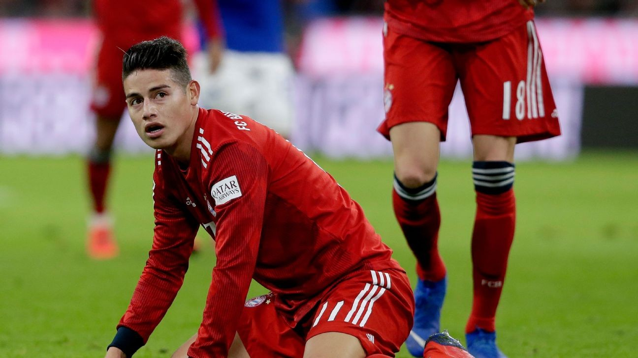 James Rodriguez's big chance vs. Liverpool could foreshadow his future role with Colombia