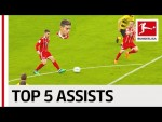 James Rodriguez - Top 5 Assists