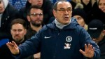 Maurizio Sarri: Chelsea manager says winning is 'only solution'