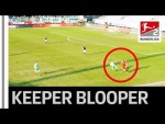 30 Metre Goal After Goalkeeper's Dribbling Backfires